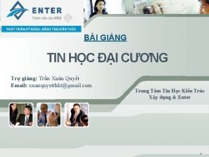 BI GING TIN HC I CNG Tr ging