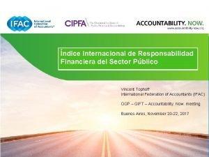 IFAC CIPFA Public Sector ndice Internacional Responsabilidad Financialde