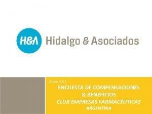 Mayo 2015 ENCUESTA DE COMPENSACIONES BENEFICIOS CLUB EMPRESAS
