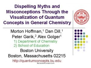 Dispelling Myths and Misconceptions Through the Visualization of