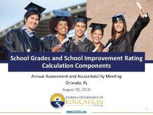School Grades and School Improvement Rating Calculation Components