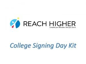College Signing Day Kit Whats Inside Goals for