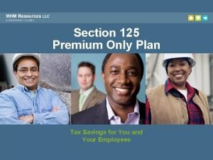 Section 125 Premium Only Plan Tax Savings for