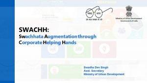 SWACHH Swachhata Augmentation through Corporate Helping Hands KPMG