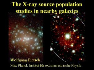 The Xray source population studies in nearby galaxies