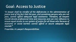 Ethical Considerations for Pro Bono Representation a mcmurreycsc