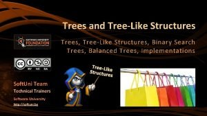 Trees and TreeLike Structures Trees TreeLike Structures Binary
