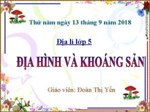 Th nm ngy 13 thng 9 nm 2018