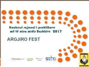 ARGJIRO FEST Si lindi Argjiro Fest Gjirokastra pjes