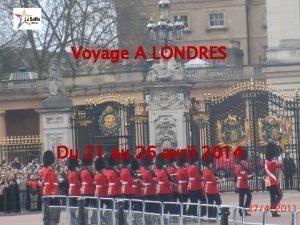 Voyage A LONDRES Du 21 au 26 avril