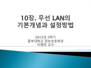 LAN Layer 1 Layer 2 LAN LAN LAN