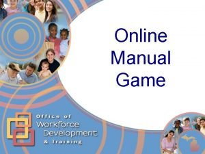 Online Manual Game Online Manual Game View in