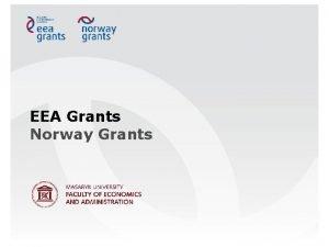 EEA Grants Norway Grants Click to add text