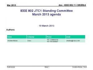 doc IEEE 802 11 130305 r 4 Mar