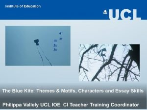 The Blue Kite Themes Motifs Characters and Essay