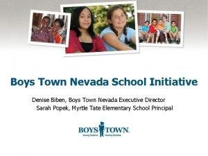 Boys Town Nevada School Initiative Denise Biben Boys