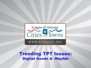 Trending TPT Issues Digital Goods Wayfair Trending TPT