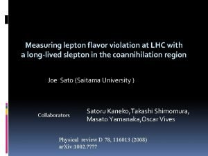 Measuring lepton flavor violation at LHC with a