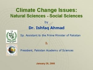 Climate Change Issues Natural Sciences Social Sciences by