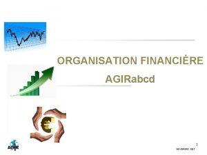 ORGANISATION FINANCIRE AGIRabcd 1 NOVEMBRE 2017 ORGANISATION FINANCIRE