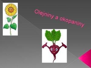 Olejn iny a oko pani ny Pon plodiny