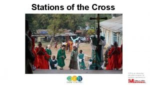Stations of the Cross DYN is an interactive