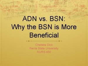 ADN vs BSN Why the BSN is More