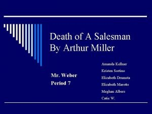 Death of A Salesman By Arthur Miller Amanda