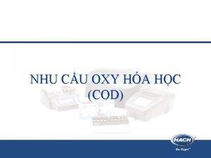 NHU CU OXY HA HC COD COD Ghi