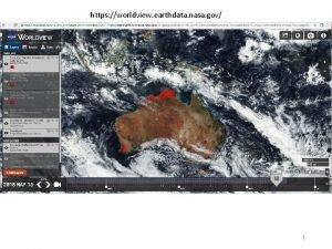 https worldview earthdata nasa gov 1 Caveats to