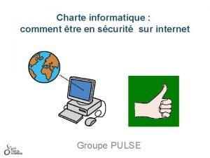 Charte informatique comment tre en scurit sur internet