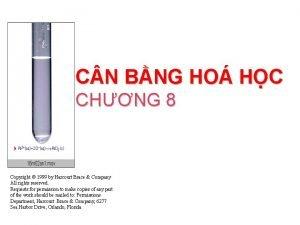 C N BNG HO HC CHNG 8 Copyright