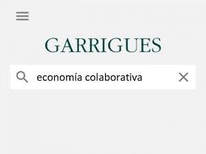 economa colaborativa economa colaborativa Su bsqueda economa colaborativa