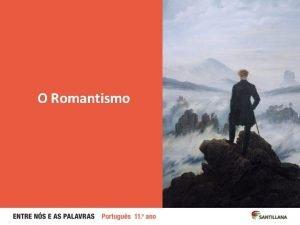 O Romantismo Thomas Jones O Bardo 1774 Thomas