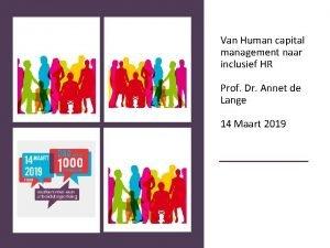 Van Human capital management naar inclusief HR Prof