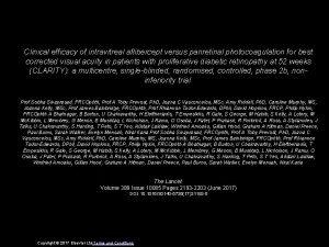 Clinical efficacy of intravitreal aflibercept versus panretinal photocoagulation
