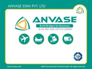 IDENTITY Anvase identity proclaims The Vision Mission and