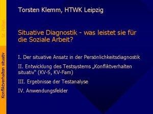 Konfliktverhalten situativ St Plten Torsten Klemm HTWK Leipzig