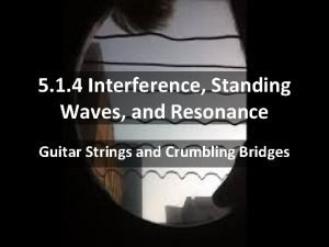 5 1 4 Interference Standing Waves and Resonance