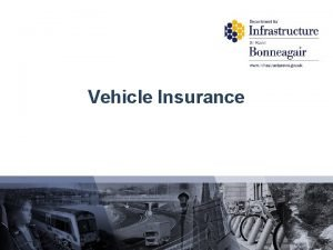 Vehicle Insurance PreEvaluation Vehicle Insurance Strongly Agree Dont