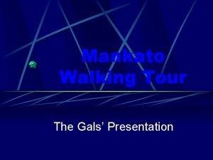Mankato Walking Tour The Gals Presentation Italianate Architecture