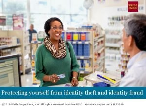 Protecting yourself from identity theft and identity fraud