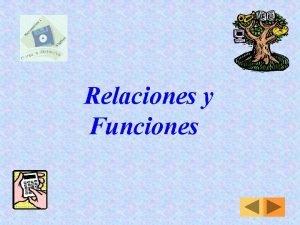 Relaciones y Funciones Trabajo Prctico N 3 Relaciones