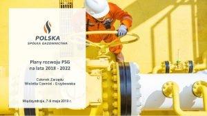 Plany rozwoju PSG na lata 2018 2022 Czonek