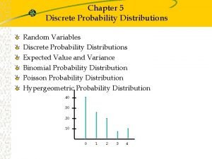 Chapter 5 Discrete Probability Distributions Random Variables Discrete