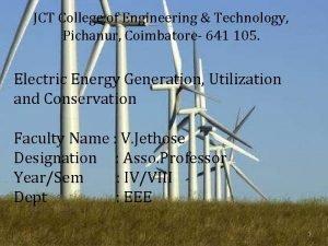 JCT College of Engineering Technology Pichanur Coimbatore 641
