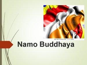 Namo Buddhaya Orientasi Guru Sekolah Minggu Buddha Provinsi