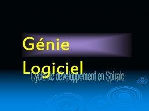Gnie Logiciel Teste de Logiciel Etude de cas