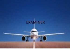 EXAMINER Hvordan bliver man Examiner Her er Nuser