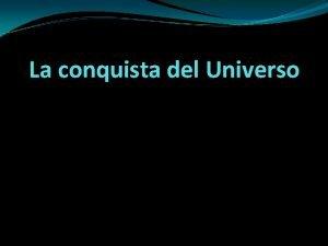 La conquista del Universo ndice Sistema Solar Planetas